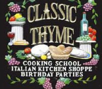Classic Thyme Kids Cooking Camps
